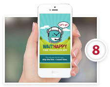 WaitHappy Wait List Management Mobile App